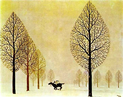 """Ren Magritte - """"Zagubiony dżokej"""""""