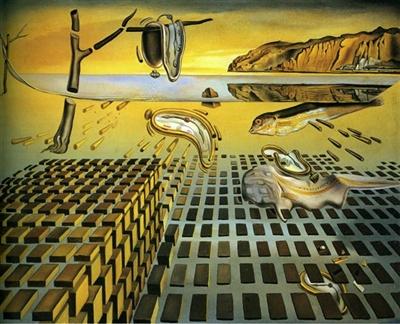 """Salvador Dali - """"Dezintegracja uporczywości pamięci"""""""