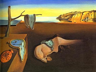 """Salvador Dali - """"Uporczywość pamięci"""""""