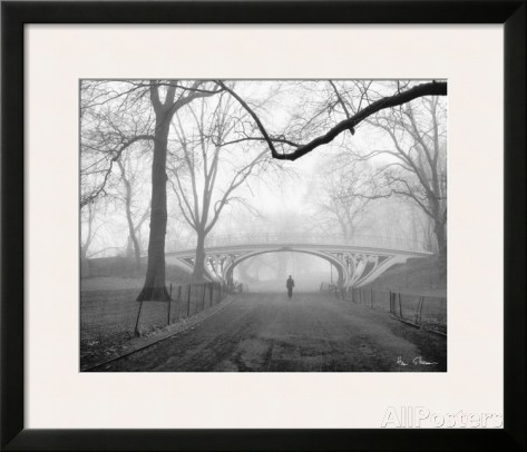 Gothic Bridge, Central Park, NYC - Henri Silberman
