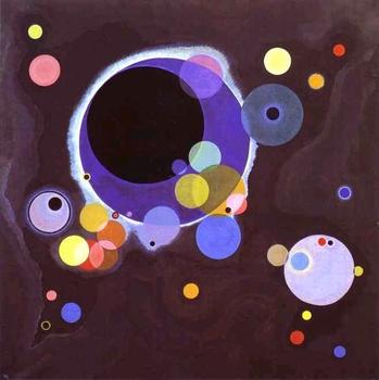 """Wassily Kandinsky - """"Several Circles"""""""