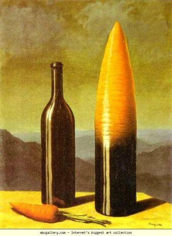 """Rene Magritte - """"Wyjaśnienie"""" (1954)"""