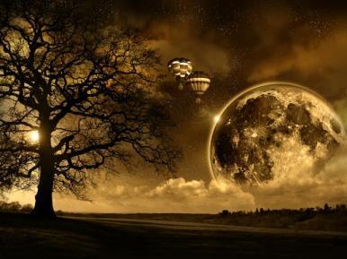 dziwaczny sen wizja