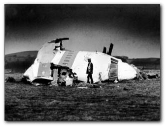 Katastrofa nad Lockerbie, rozbity samolot