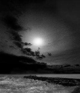 ciemność krajobraz