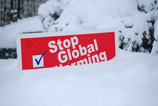stop-global-warming-sign-in-snow