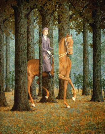 "Rene Magritte - ""The Blank Cheque"""