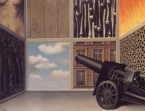 "Rene Magritte - ""On the threshold of liberty"" (1929)"