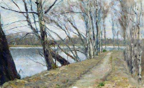 Ostrouchow, Wczesna wiosna (1910)