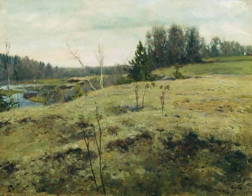 Ostrouchow, Wczesną wiosną
