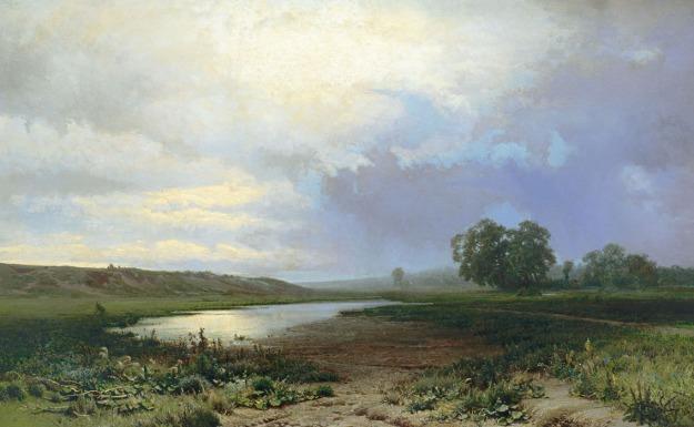 """Fiodor A. Wasiliew - """"Mokra łąka"""""""