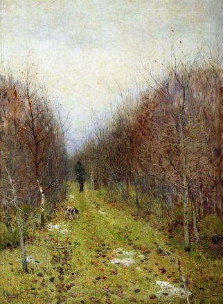 """Izaak Lewitan - """"Krajobraz jesienny"""" (1880)"""