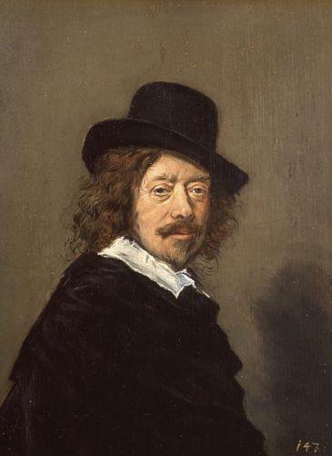 Portret Fransa Hals (1582-1666). Kopia autoportretu. Z Indianapolis