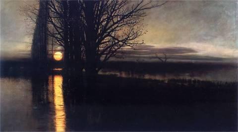 """Stanisław Masłowski - """"Wschód księżyca"""""""