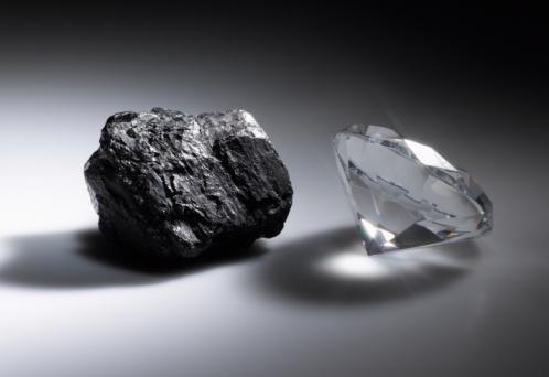węgiel i diament