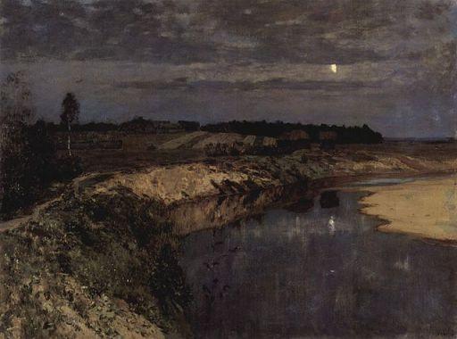 """Izaak Lewitan - """"Cisza"""" (1898)"""