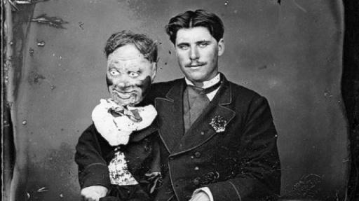 brzuchomówca i lalka