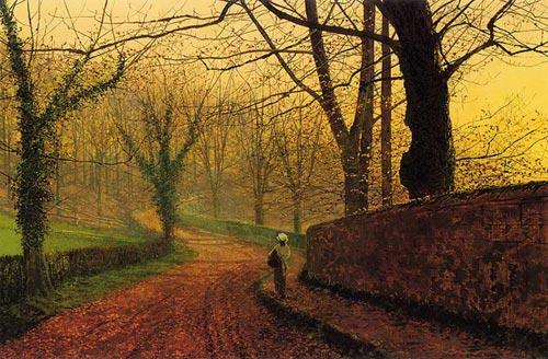 John Atkinson Grimshaw, jesienny park