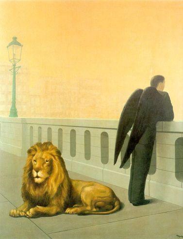 "Rene Magritte - ""Homesickness"", foto"