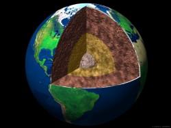 Wnętrze Ziemi, grafika