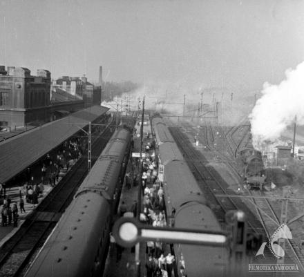 Pociąg, Kawalerowicz - dwa pociągi