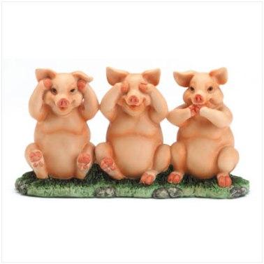 trzy mądre świnki