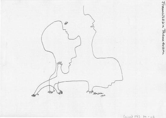 Franciszka Themerson - Concord (1962), rysunek