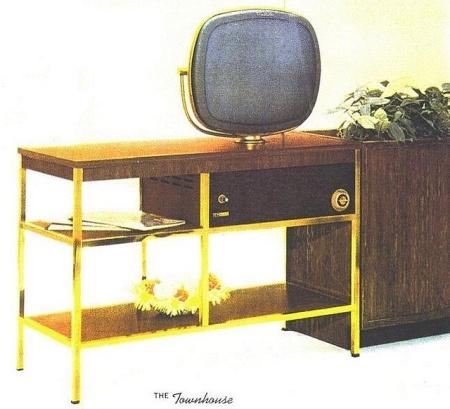 Philco Predicta Townhouse -stary telewizor