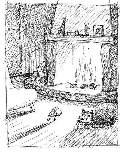 Franco Matticchio - Kot i kominek