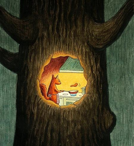 Franco Matticchio - Dom w drzewie