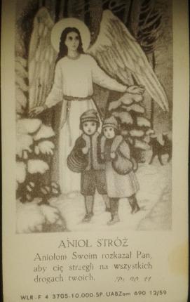 """""""Anioł Stróż"""", dzieci, las i wilki"""