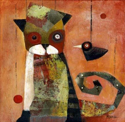 Noma Bliss - Cat and Bird