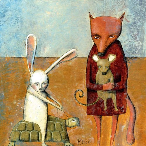 Noma Bliss - Fox and Rabbit / źródło