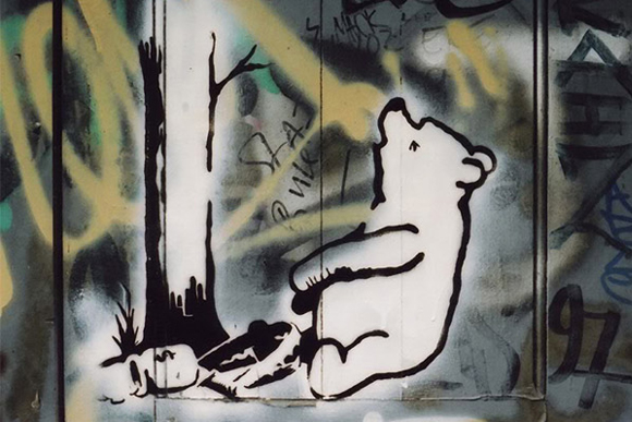 Pooh-Bear-Trap-by-Banksy