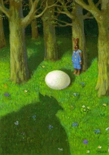 Michael-Sowa-Easter-bunny-illustration