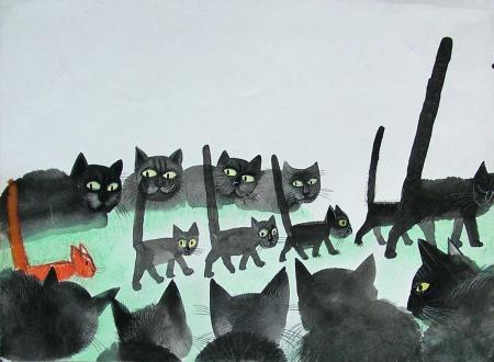 wilkoń - koty