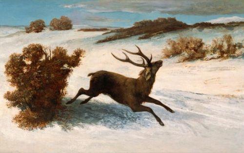jelen-uciekajacy-w-sniegu