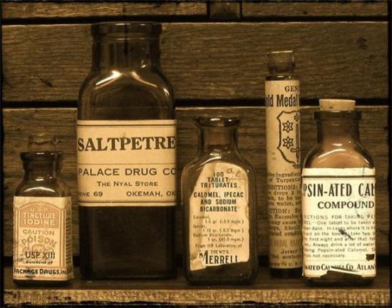 stare-butelki-apteczne-i-leki