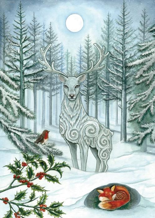 jelen-zima-swieta