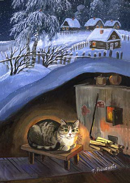 zimowy-kot-pod-ziemia-tatyana_rodionova