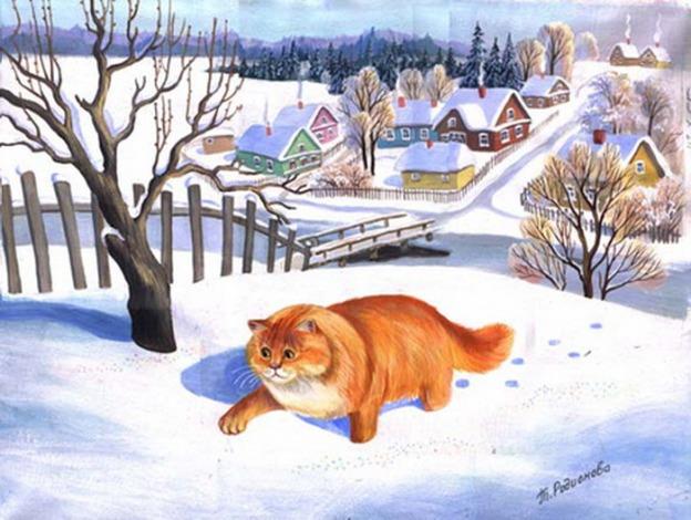 zimowy-kot-snieg-tatyana_rodionova