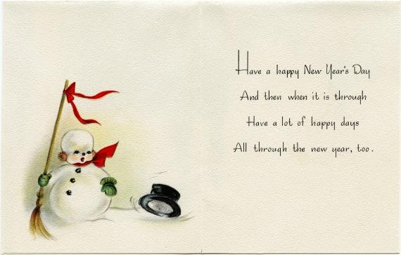 Nowy Rok - angielski wierszyk